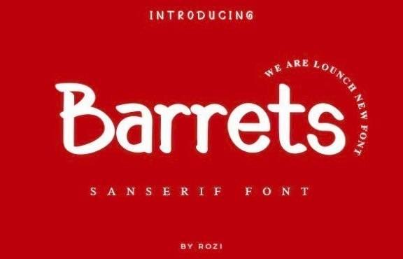 Barrets Sans Serif Font