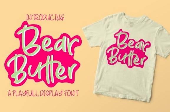 Bear Butter Font download
