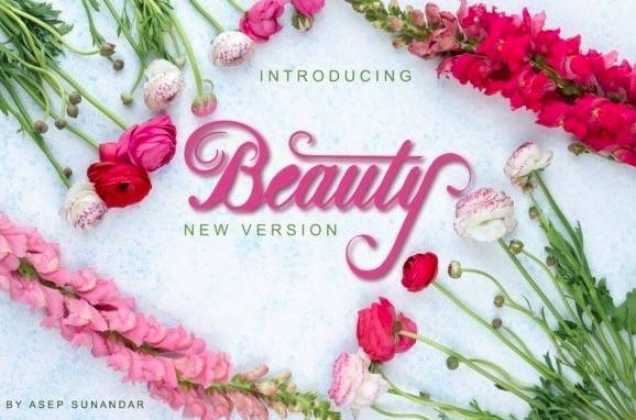 Beauty Handwritten Font