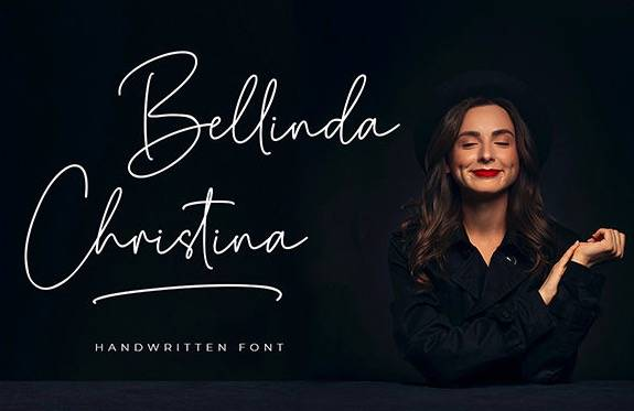 Bellinda Christina Handwritten Font