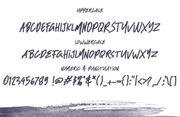 free Black Bass Font