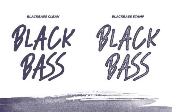 download Black Bass Font