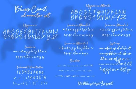 download Blues Coast Font