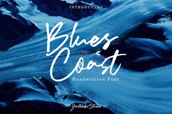 Blues Coast Font