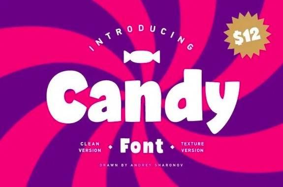Candy Font free