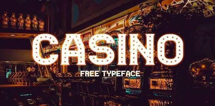 Casino Font download