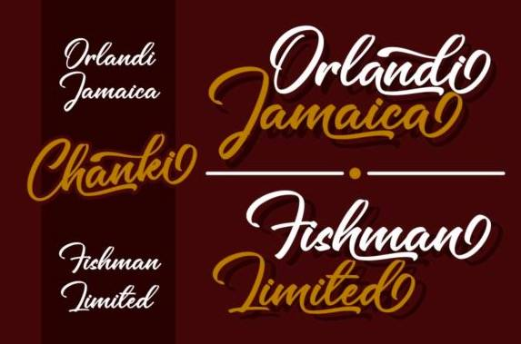 Chanki Calligraphy Font free