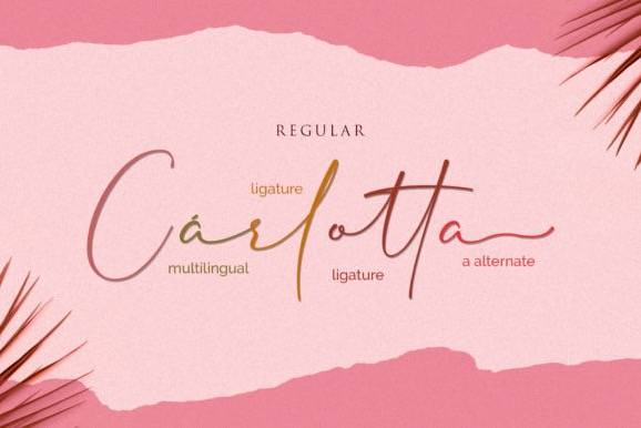 download Cherolina Lovely Elegant Handwritten Font free