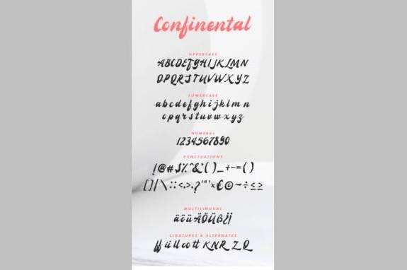 download Confinental Retro Font