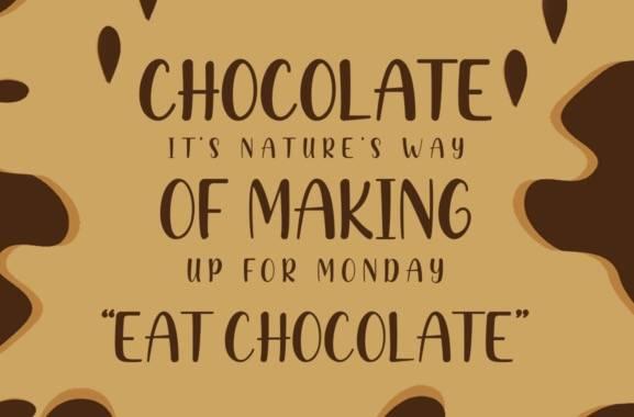 Creamy Chocolate Font