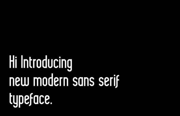 free Delvon Sans Serif Font