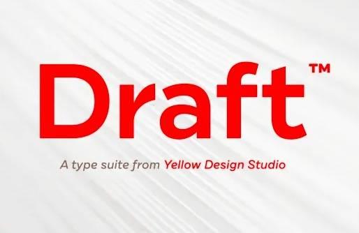 Draft™ Font