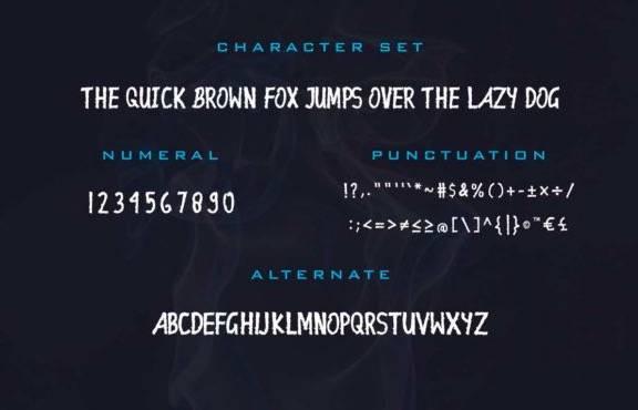 Ellinstein Decorative Font free