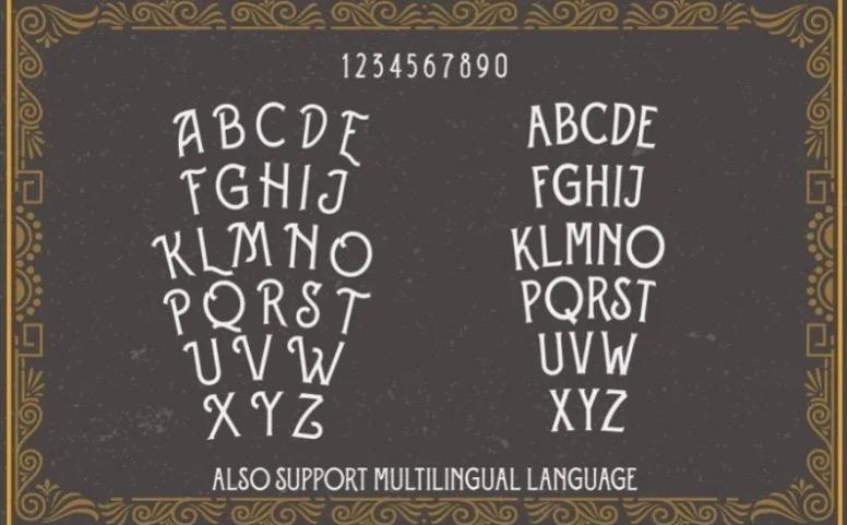 free Eversthedin Display Font download