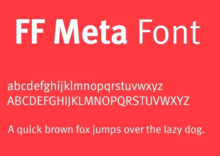 FF Meta Font download