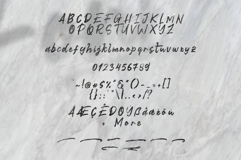 Fontix Calligraphy Font free