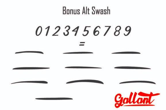 free Gallant Calligraphy Font