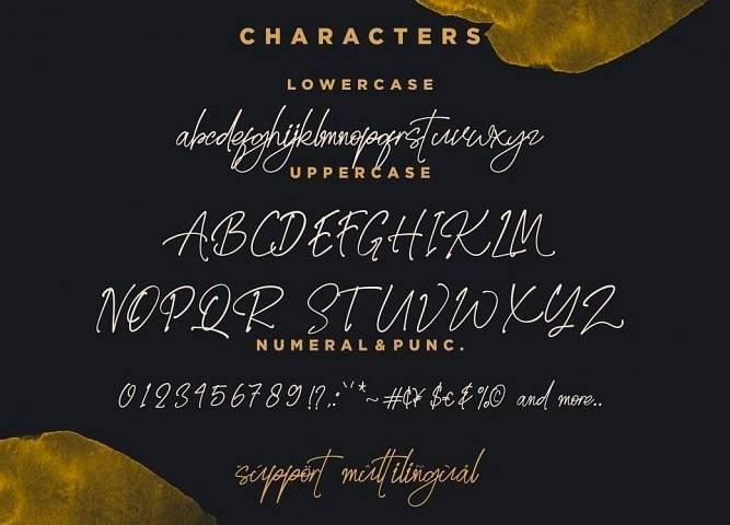 free Golden Stanbury Font Duo download