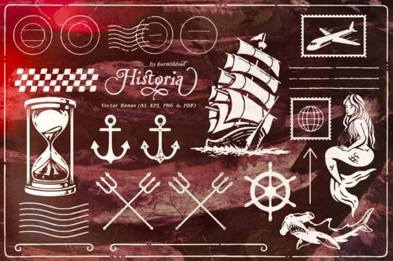 Historia Serif Font free