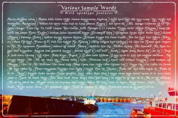 Historia Serif Font
