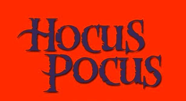 Hocus Pocus font