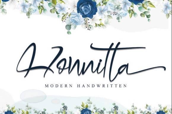 Honnitta Handwritten Font