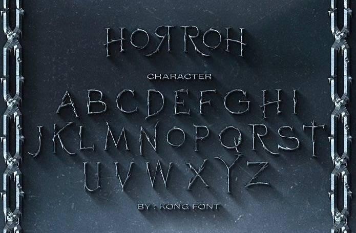 Horroh Blackletter Font free