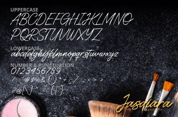 Jasdiara Luxury Handwritten Font download