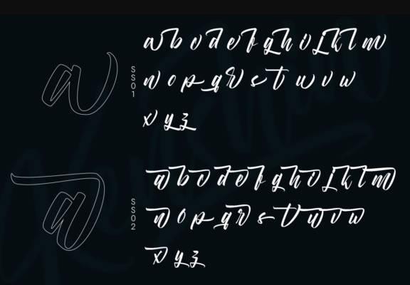 Kenshin Calligraphy Font free download