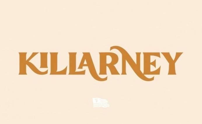 Killarney Vintage Font