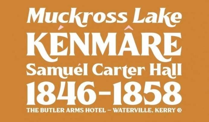 Killarney Vintage Font download