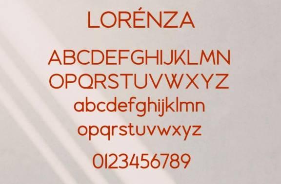 Lorenza Sans Serif Font download