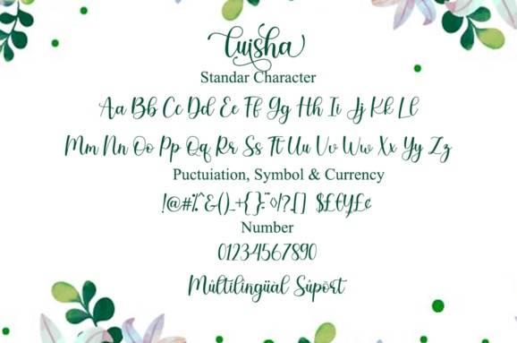 download Luisha Modern Calligraphy Font free