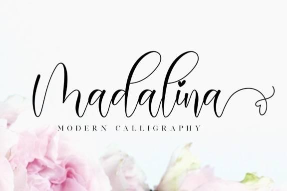 Madalina Modern Calligraphy Font