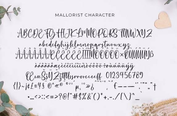 free Mallorist Handwritten Font download