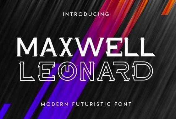 Maxwell Leonard Serif Font