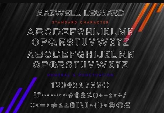 Maxwell Leonard Serif Font free download