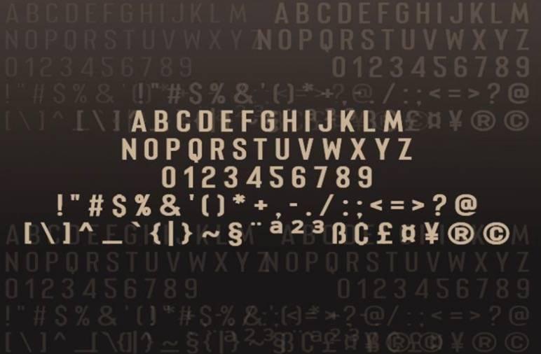 Merhique Sans Serif Font free