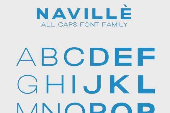 free Navillè Sans Serif Font