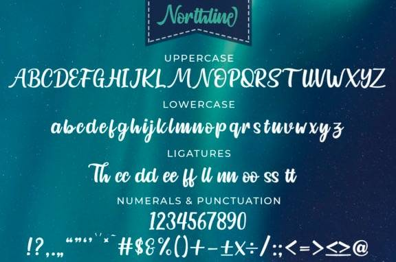download Northline Handwritten Font