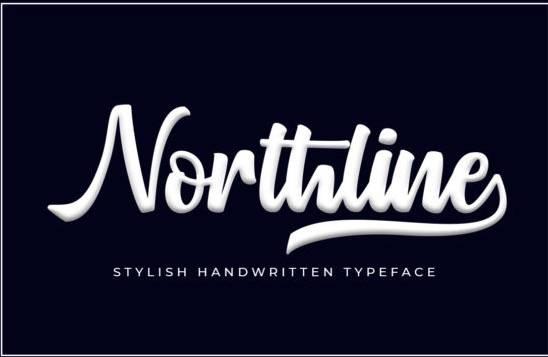 Northline Handwritten Font
