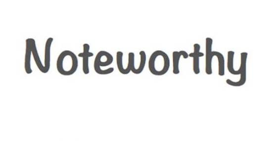 Noteworthy Font download