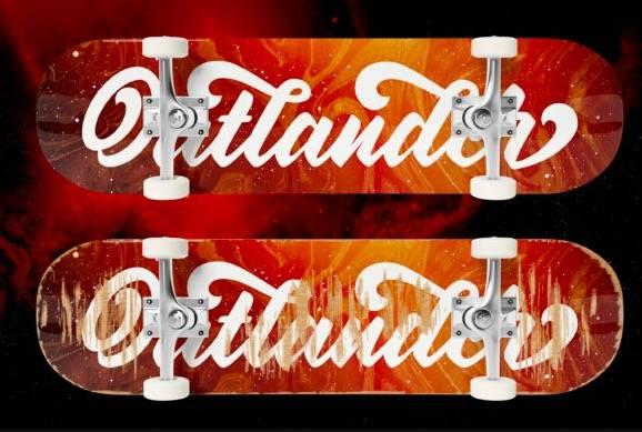 free Oatlander Calligraphy Font