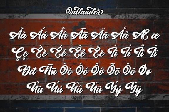 Oatlander Calligraphy Font free download
