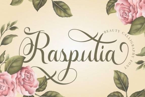 Rasputia Modern Script Font