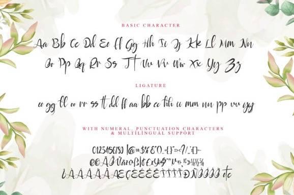 free Rayya Calligraphy Font