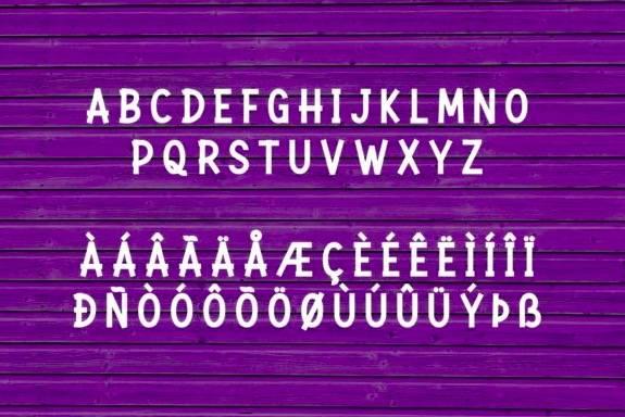 Rockbitz Display Font download
