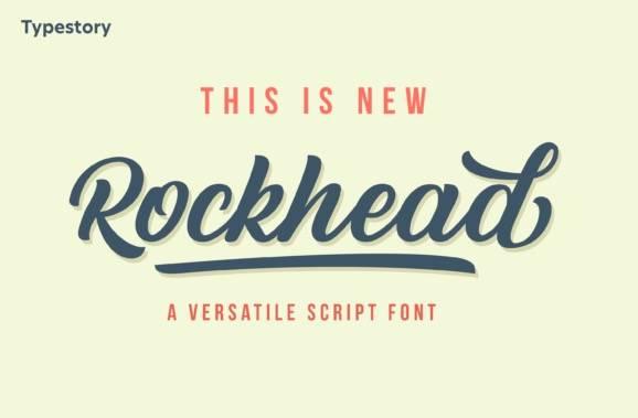 Rockhead Calligraphy Font