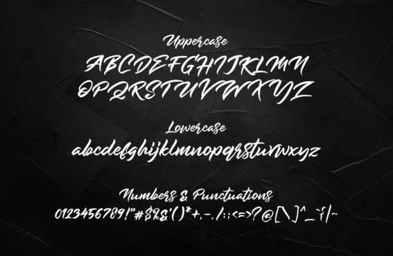 Rockmore Modern Script Font free download