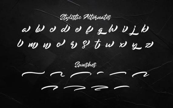 free Rockmore Modern Script Font download